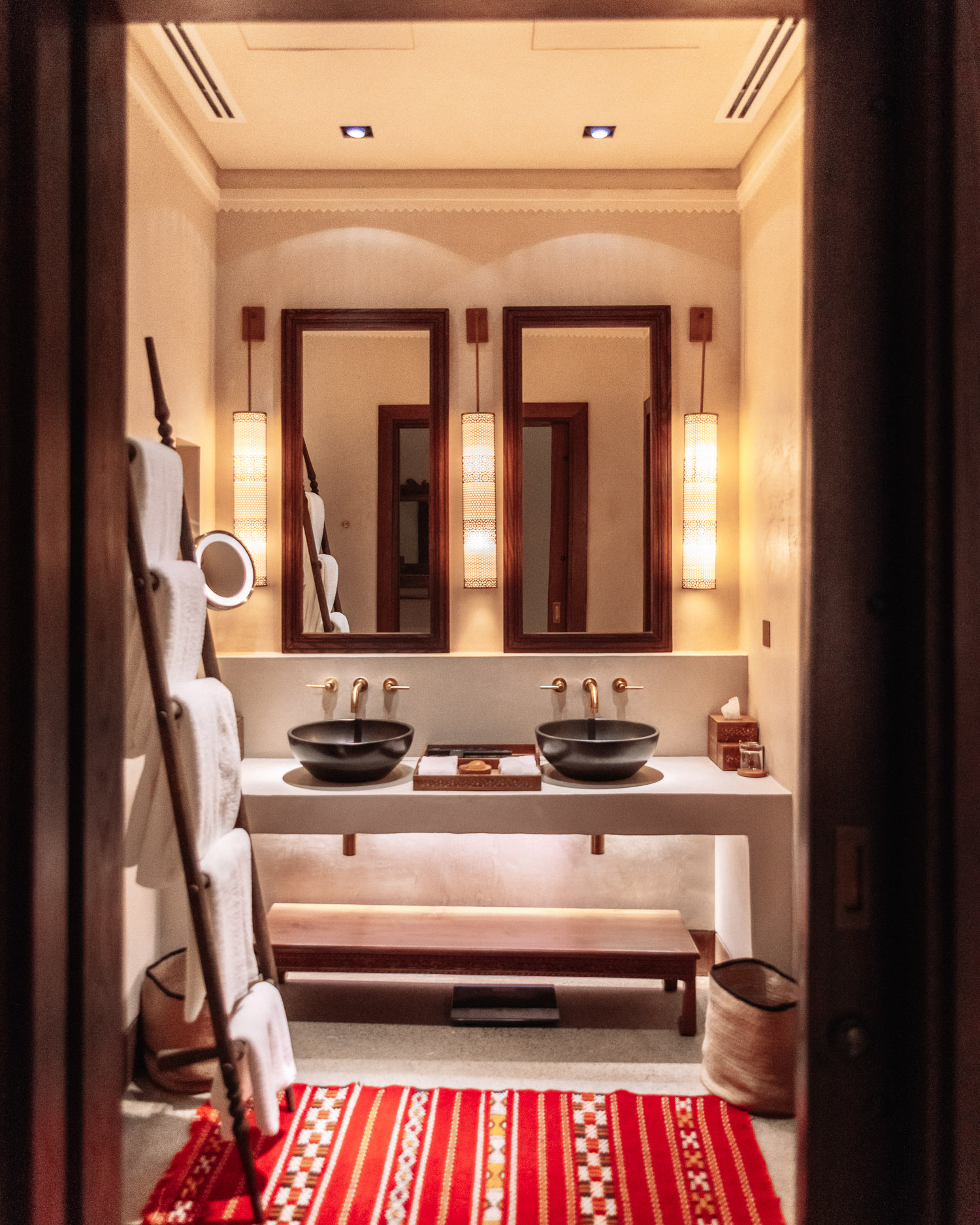 Beautiful luxury bathroom at Al Bait Sharjah
