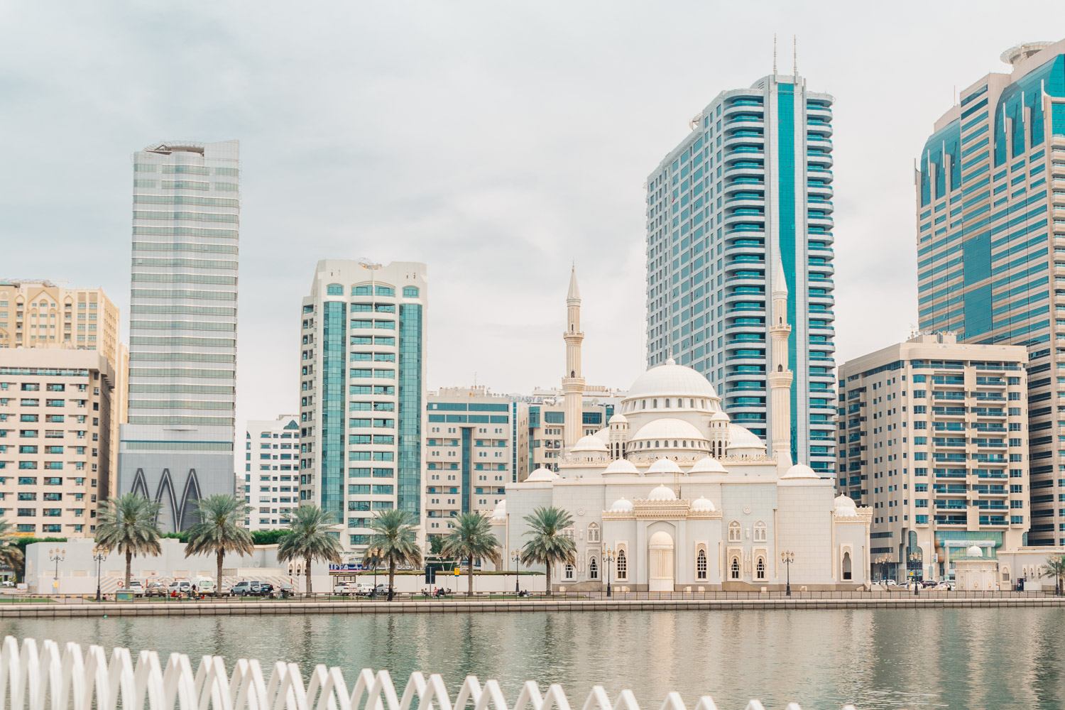 Al Noor Mosque in Sharjah, UAE