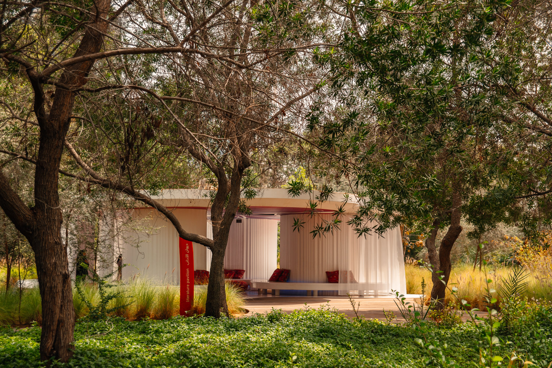 Literature Pavilion in Al Noor Island, Sharjah