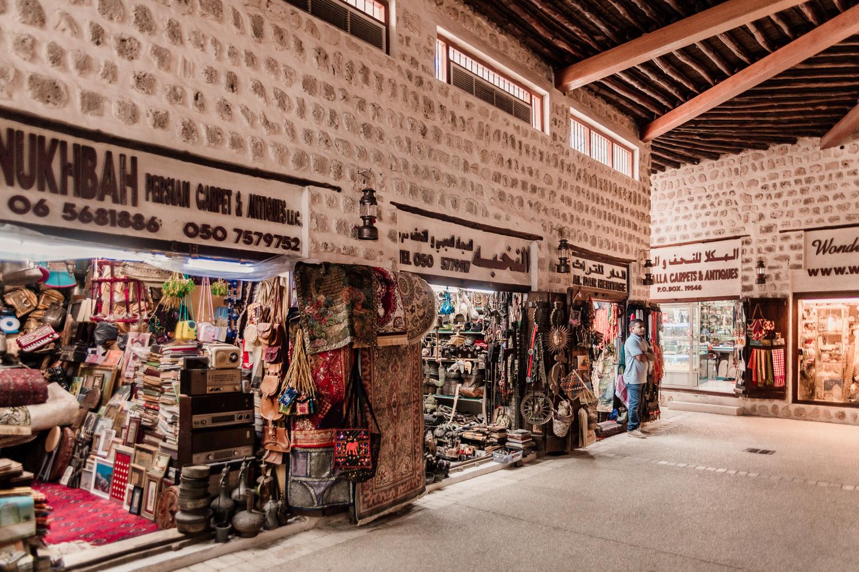 Souq Al Arsah market place