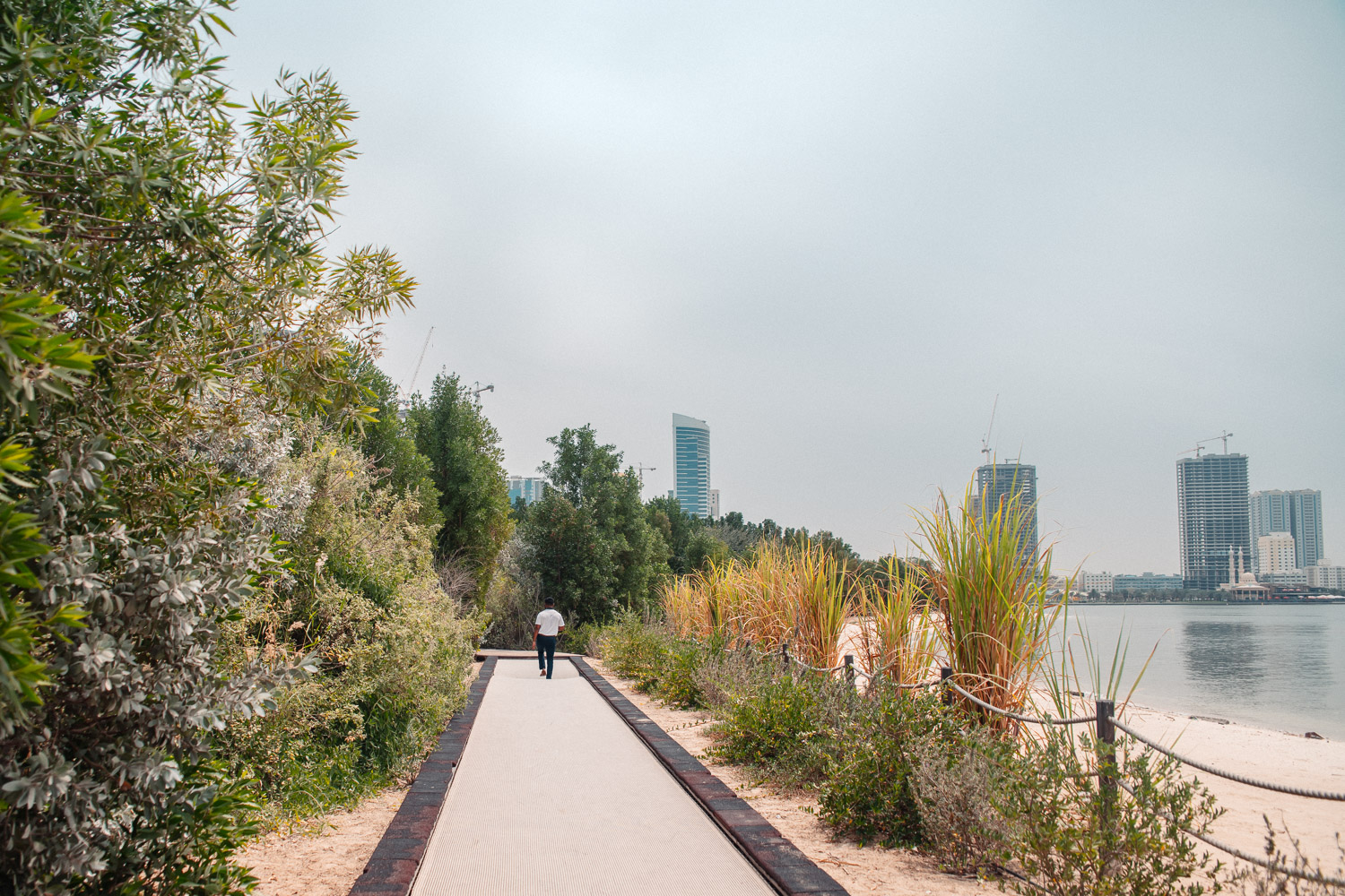 Trampoline Path at Al Noor Island