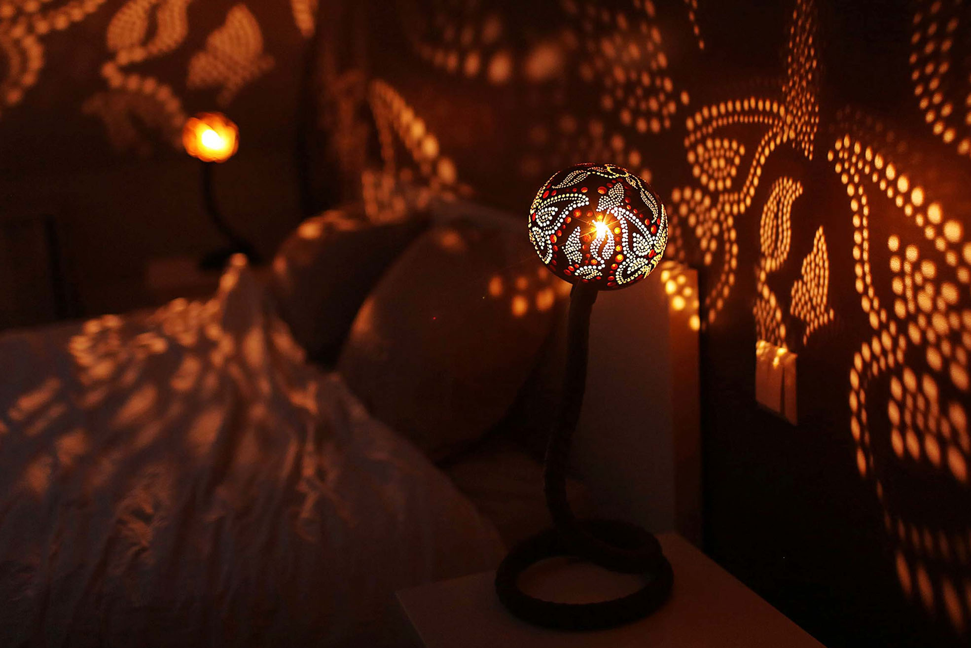 Handmade magical lights by Nymphs Workshop