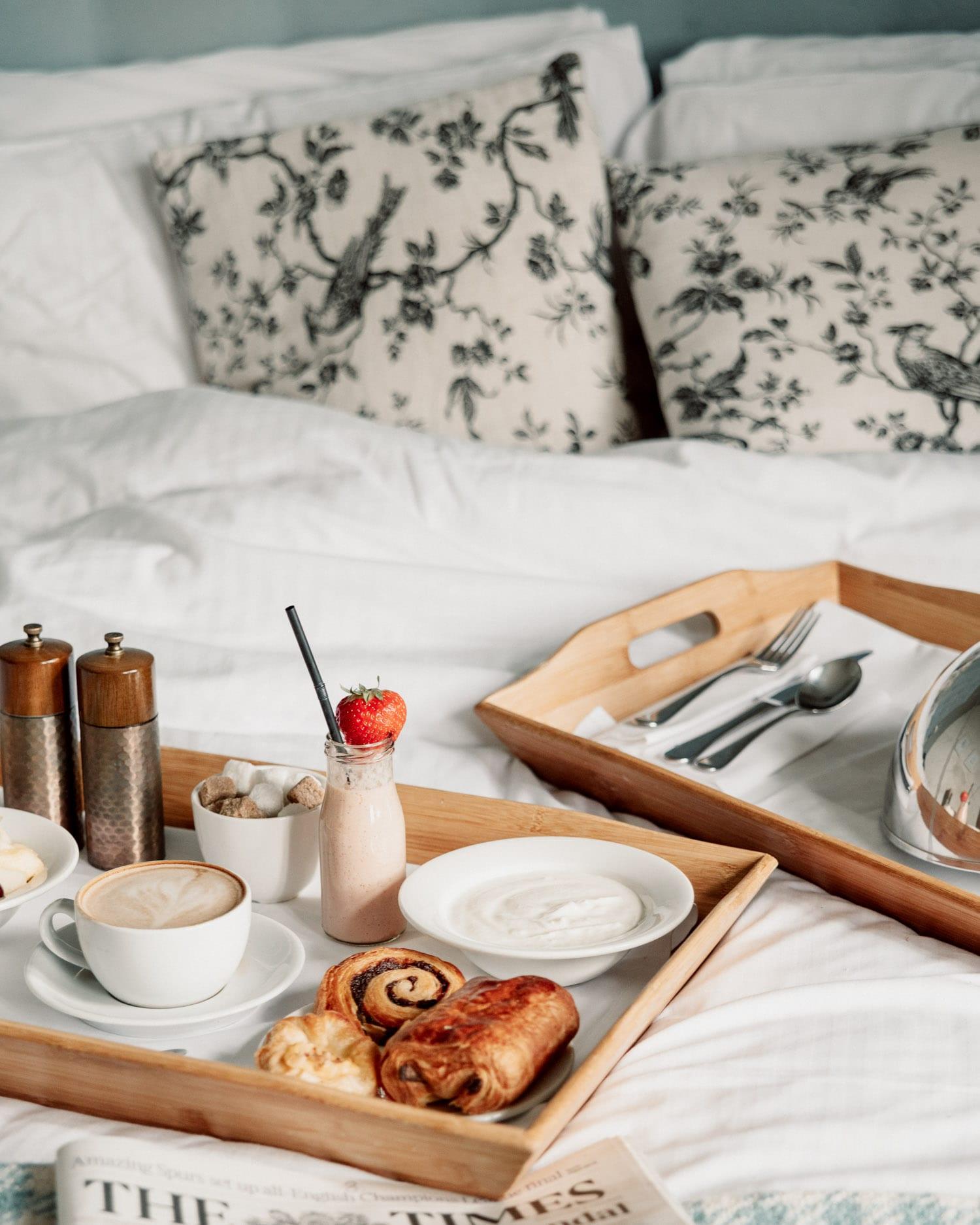 Breakfast at The Alverton Hotel, Cornwall