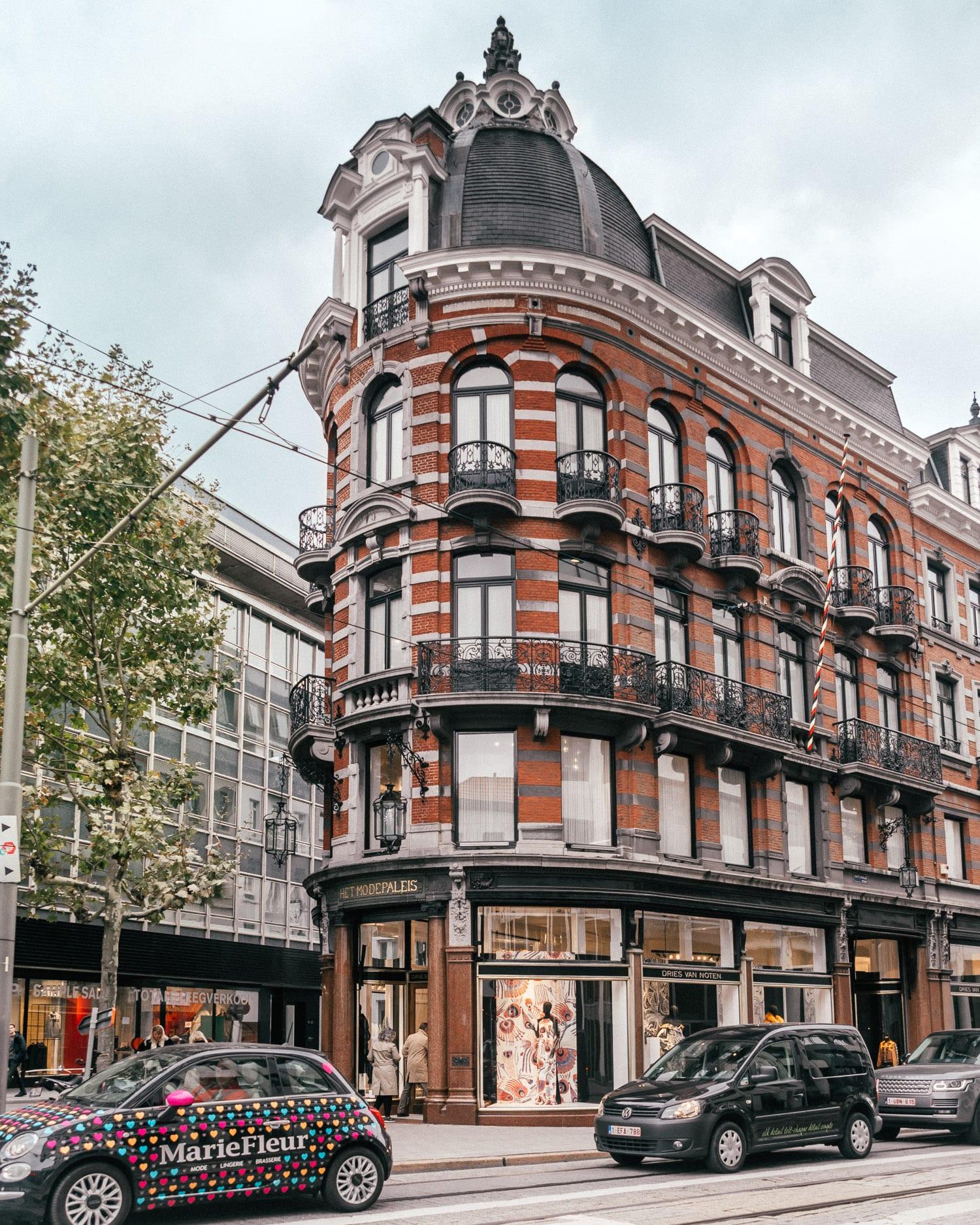 Dries Van Noten's flagship store, Het Modepaleis in Antwerp, Belgium