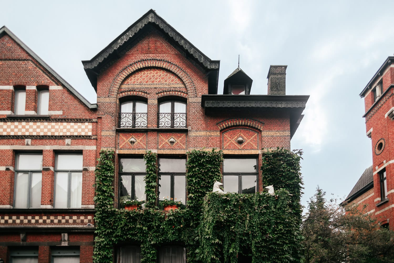 House in Zurenborg, Antwerp, Belgium