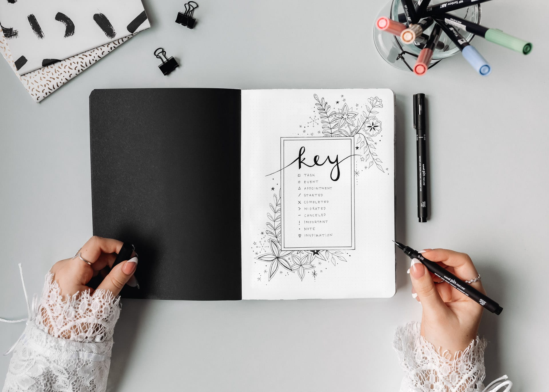 GUIDE: How to Start a Bullet Journal in 8 Easy Steps