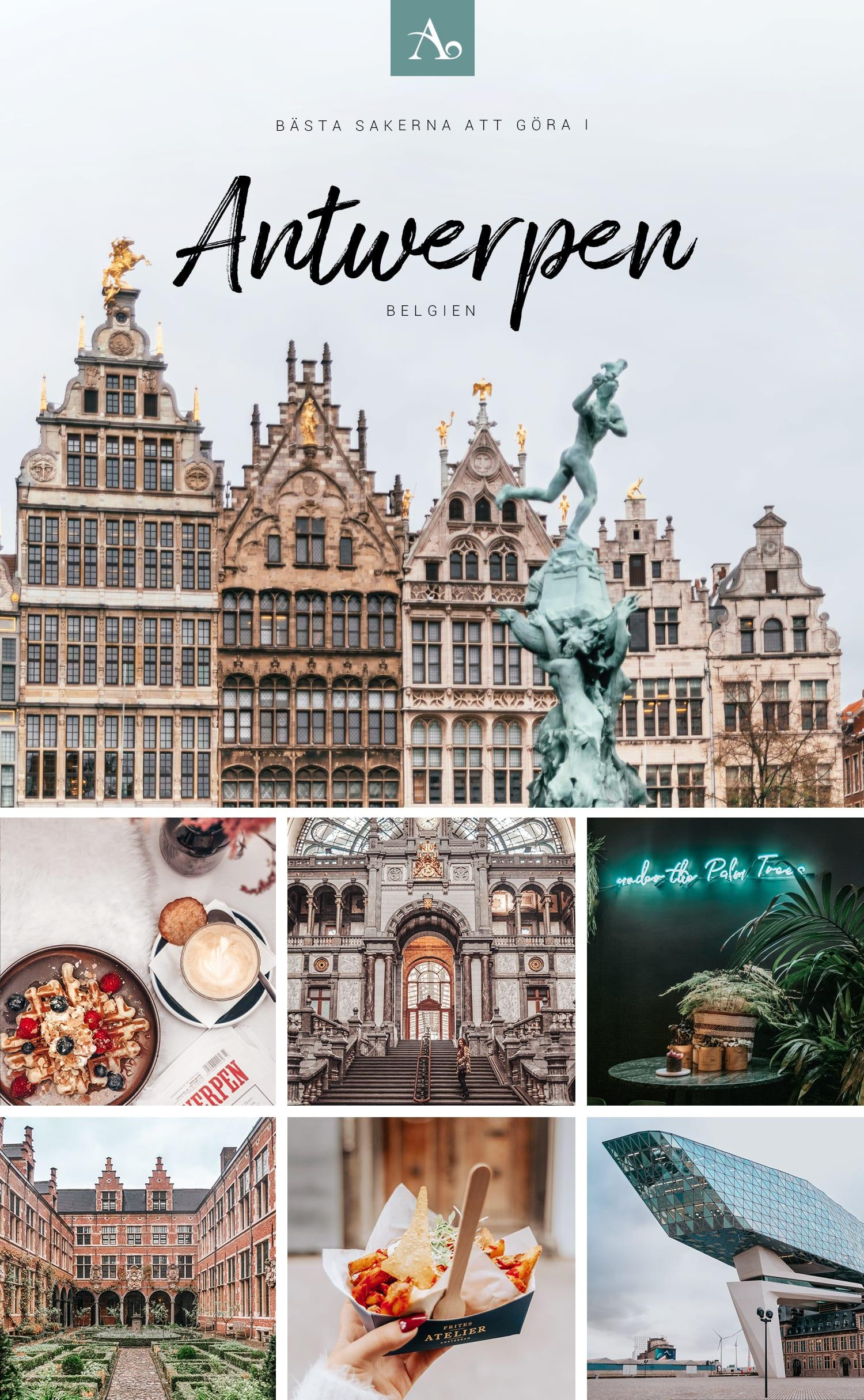 Saker att göra i Antwerpen, Belgien