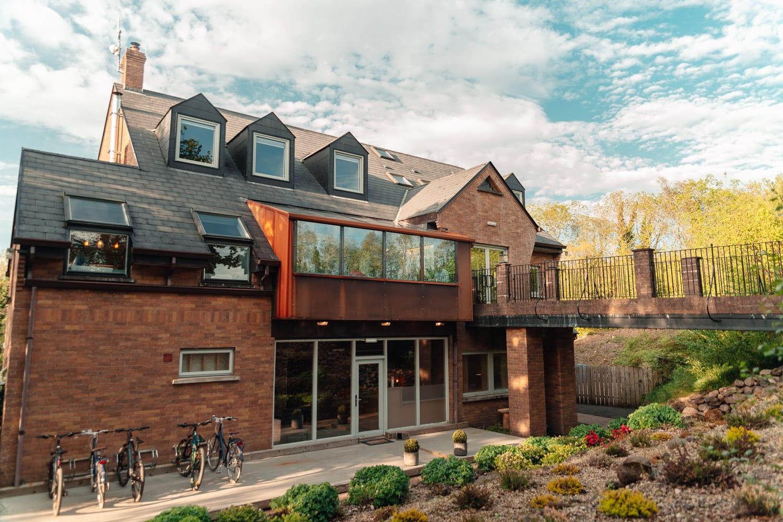 Restaurangen på Finn Loughs lyxiga escape i Nordirland