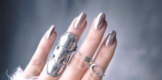 Chrome Nails Tutorial - DIY: Chromenaglar med Lackryl
