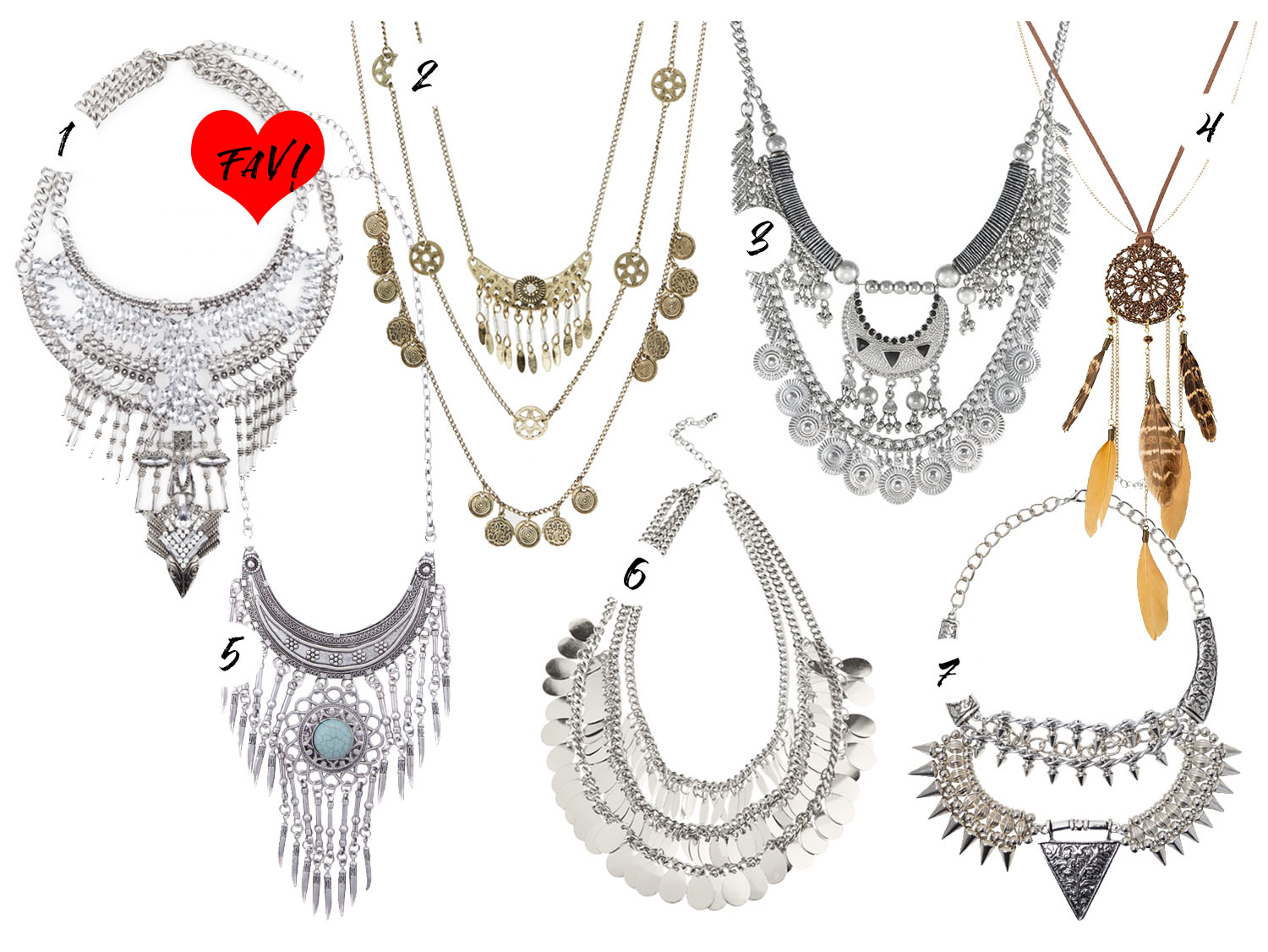 Boho Statement Necklaces