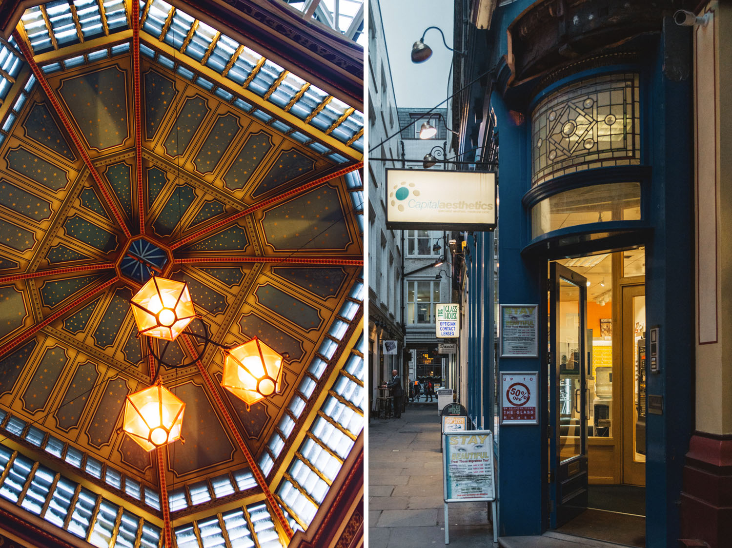 Leaky Cauldron in Leadenhall Market