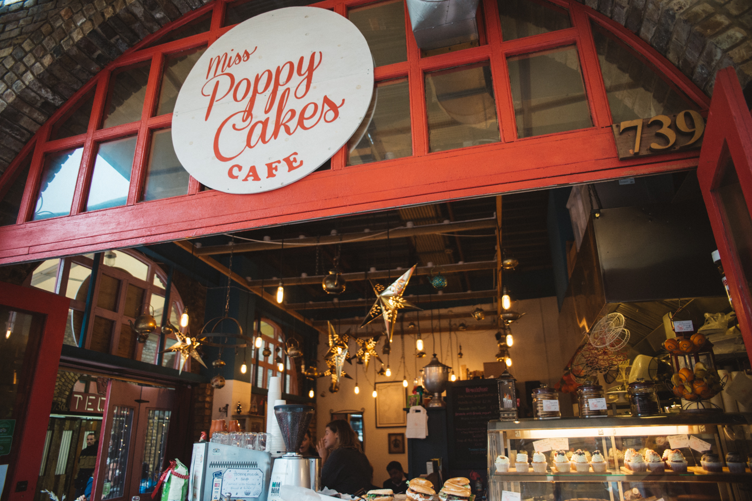Miss Poppy Cakes Cafe at Camden Market
