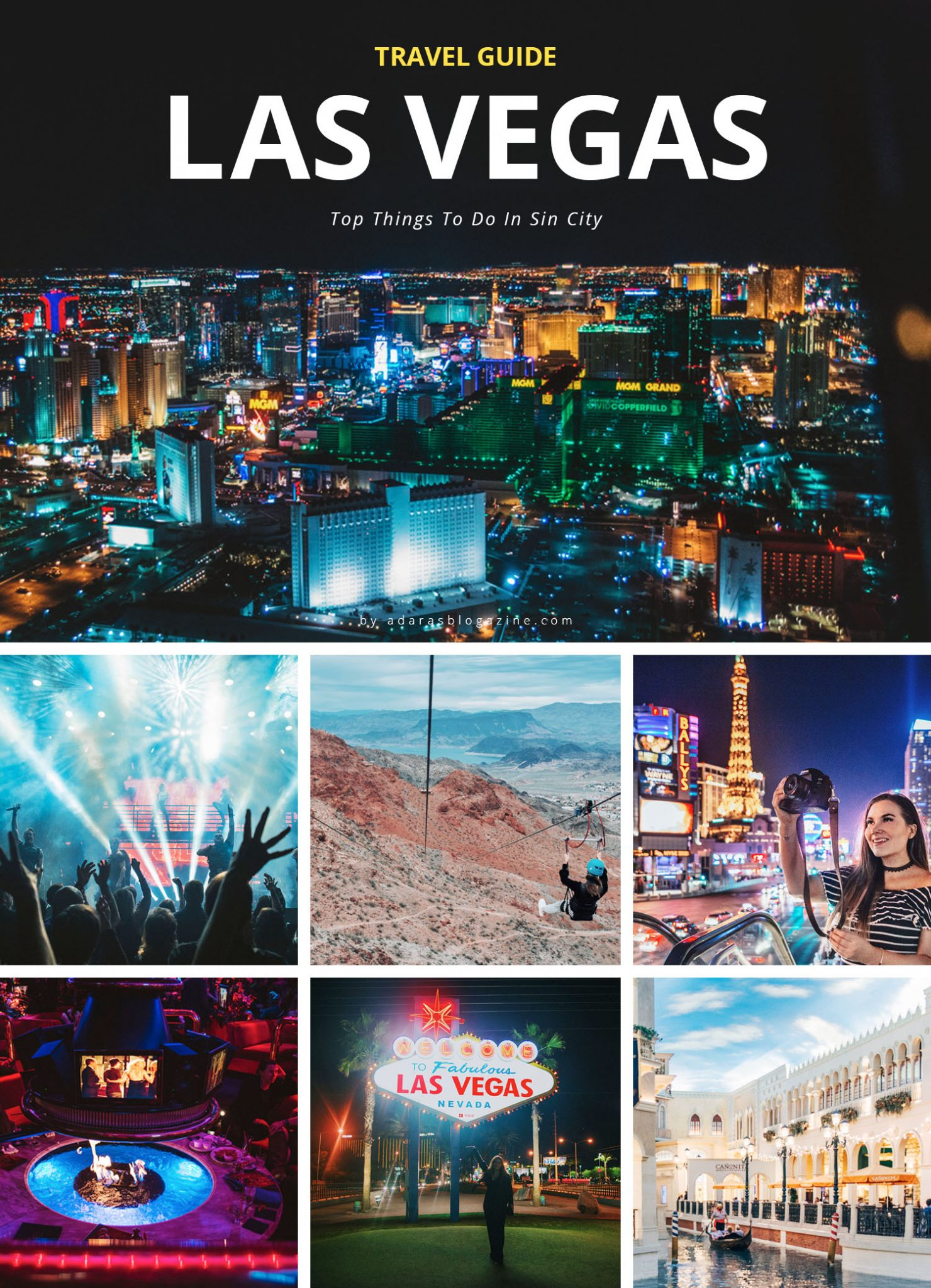 Top things to do in Las Vegas - Travel Guide to Sin City