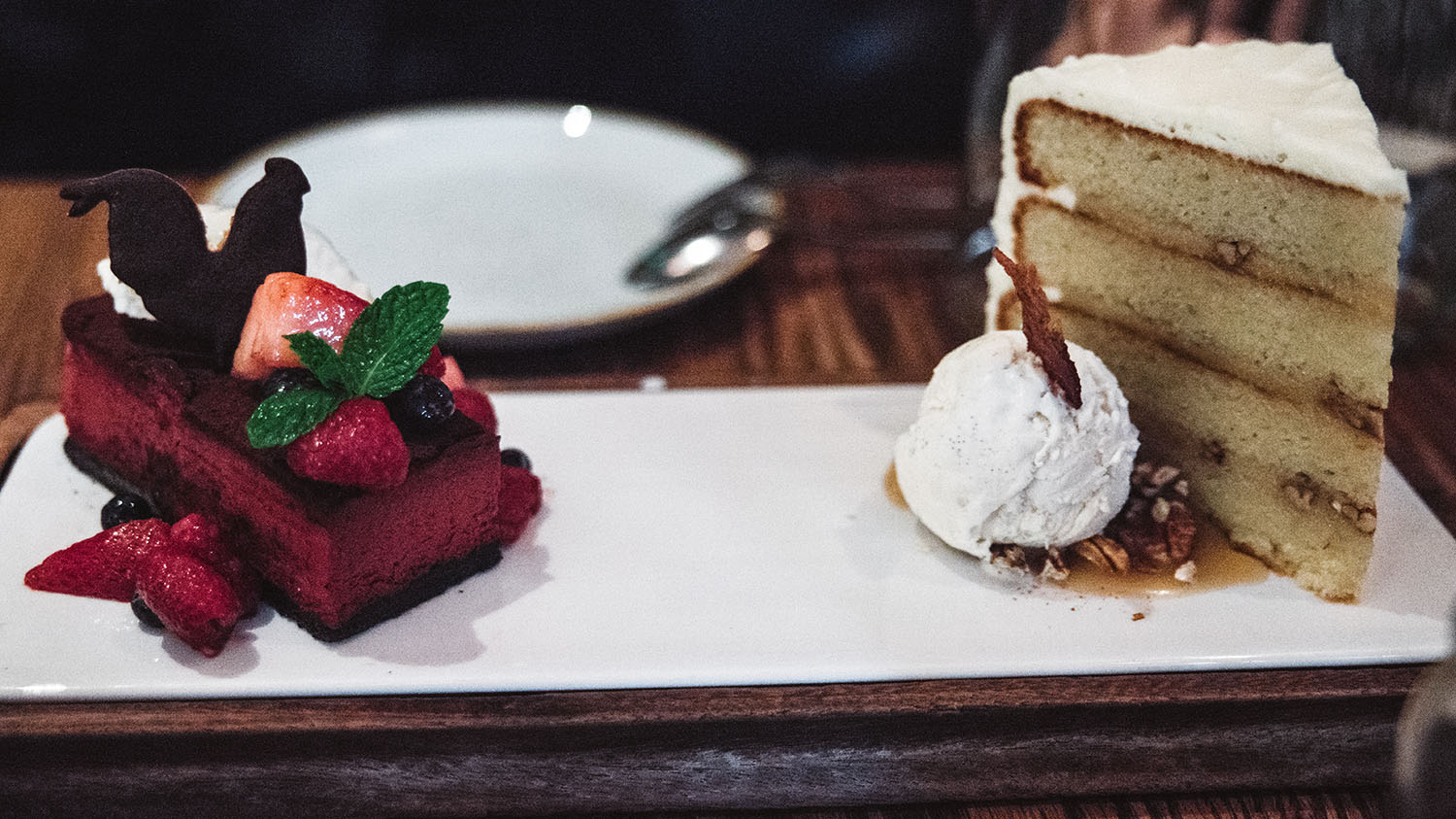 Cake with Bacon at Yardbird Southern Table & Bar