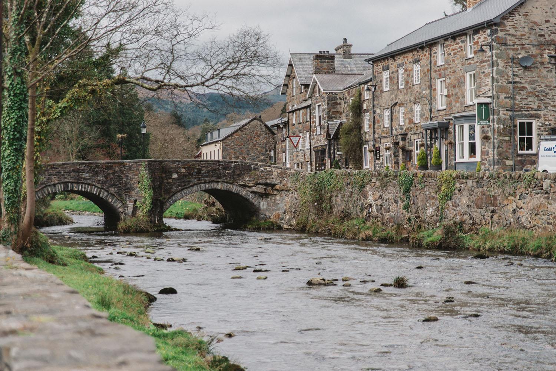 Beddgelert in Wales