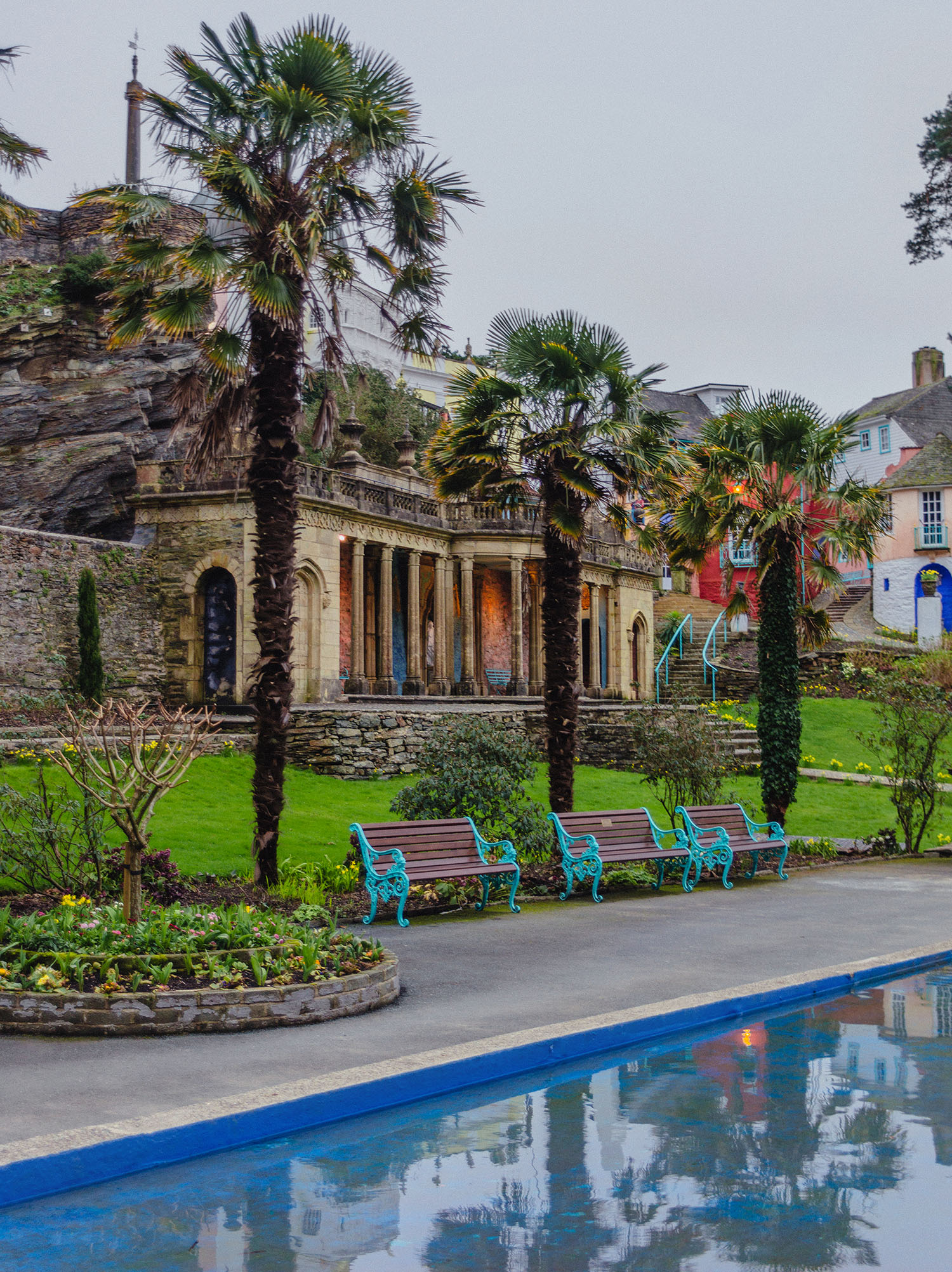 Portmeirion Pool