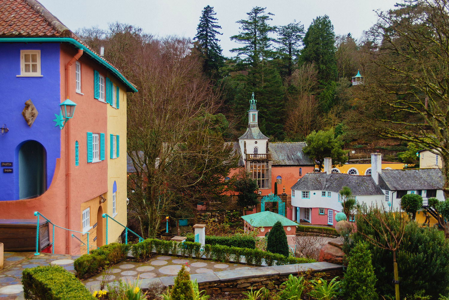 Portmeirion Village in Wales - A Fantasy Getaway