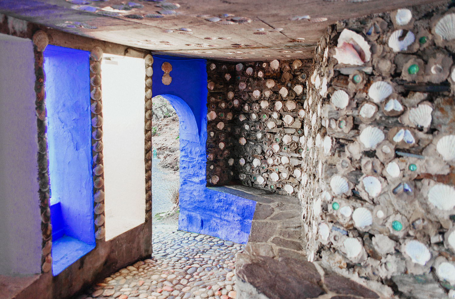 The Shell Grotto in Portmeirion