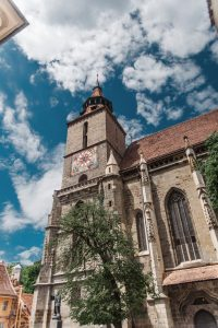 The Blach Church (Saint Mary's Church) in Braşov, Transylvania