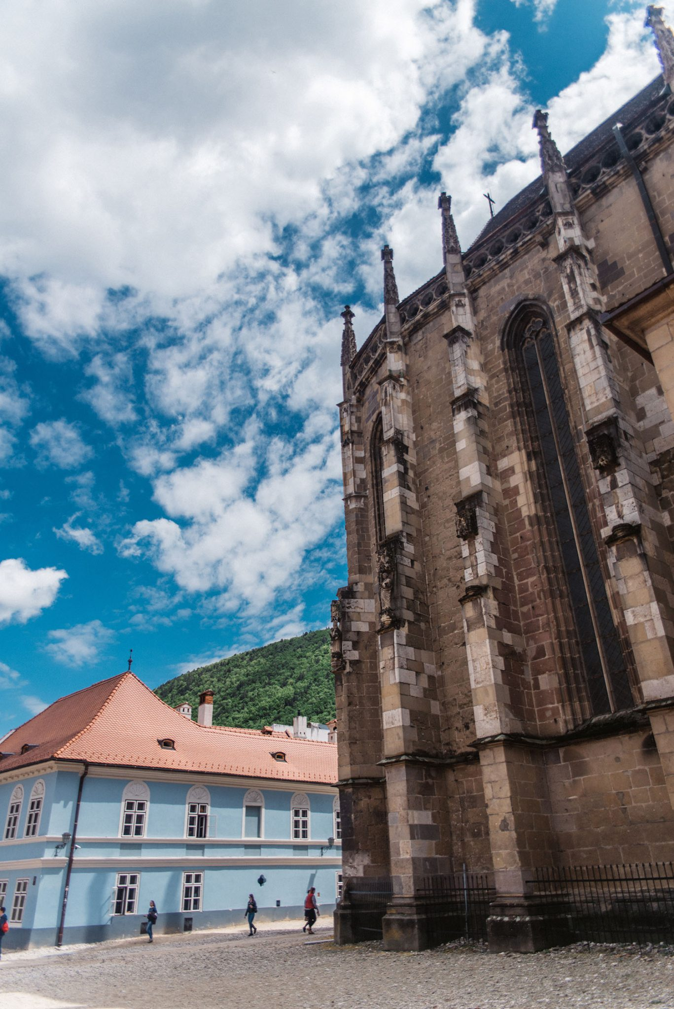 The Blach Church (Saint Mary's Church) in Braşov, Transylvania