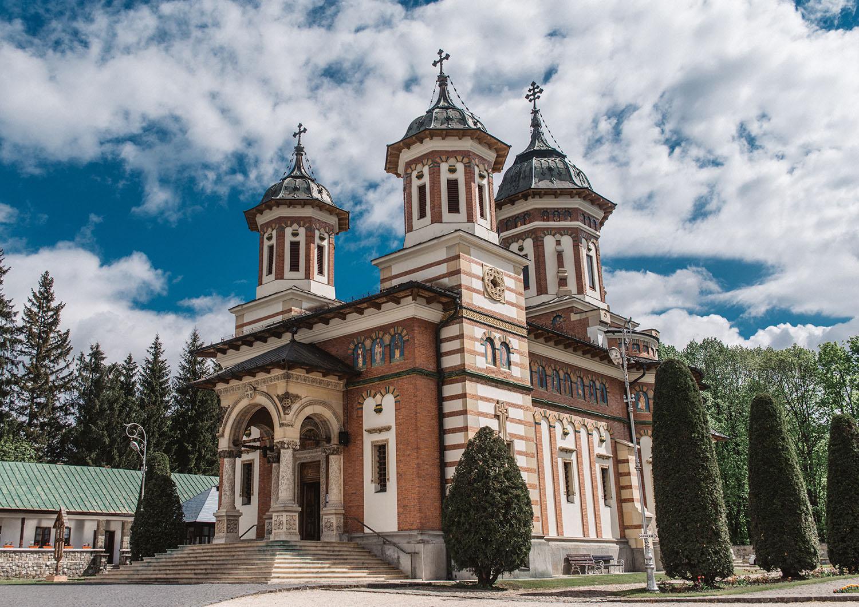 Sinaia Monastery in Romania