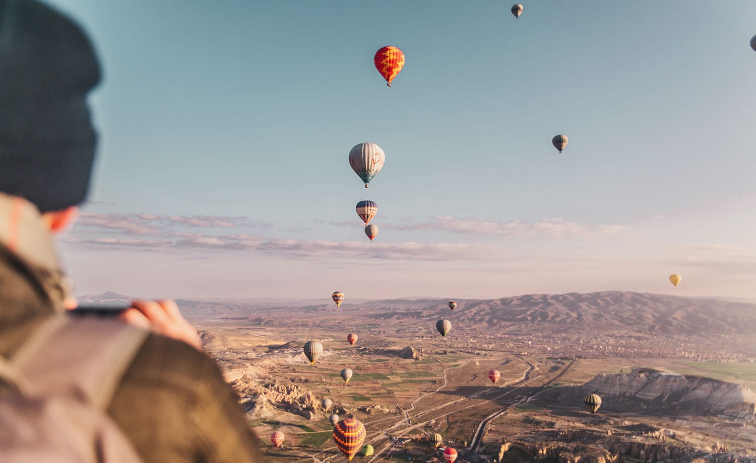 Magical: Hot air ballooning in Cappadocia, Turkey