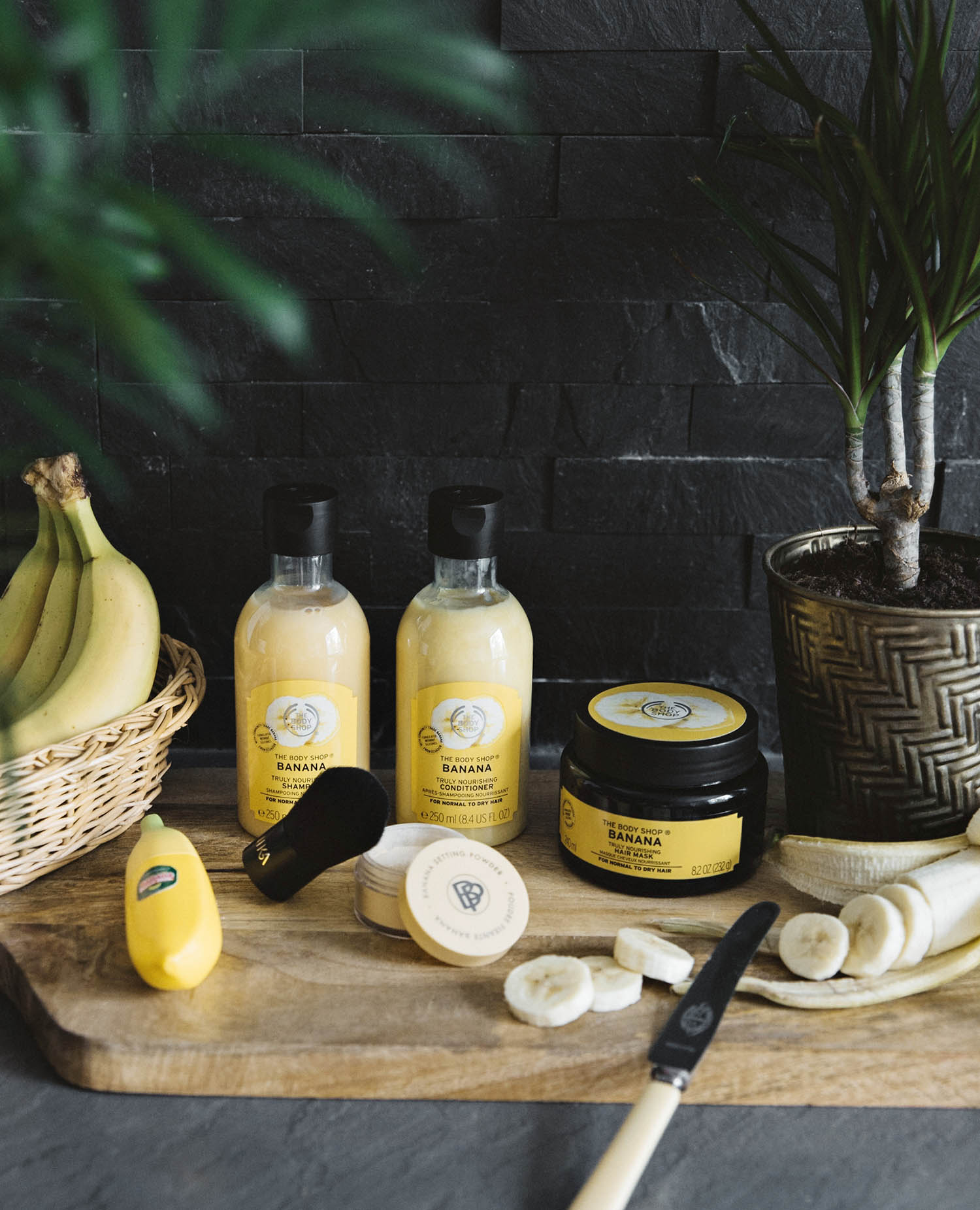 Go Bananas with these Banana Beauty Products