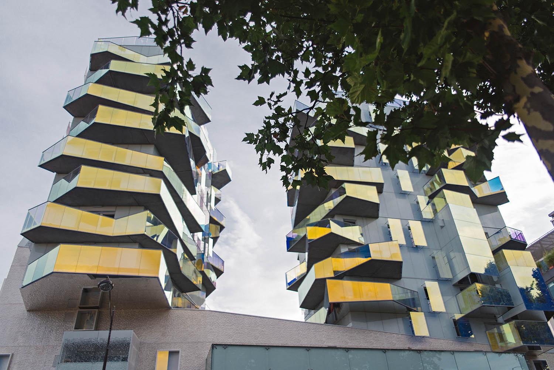 Futuristic Building in Paris