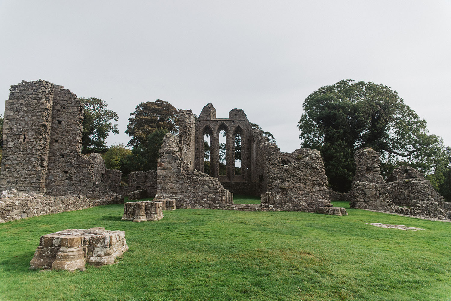 Inch Abbey - The Twins Game of Thrones filming location