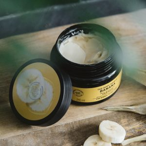 The Body Shop Banana Truly Nourishing Hair Mask