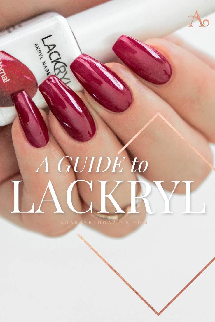 En Guide till Lackryl Akrylnagellack