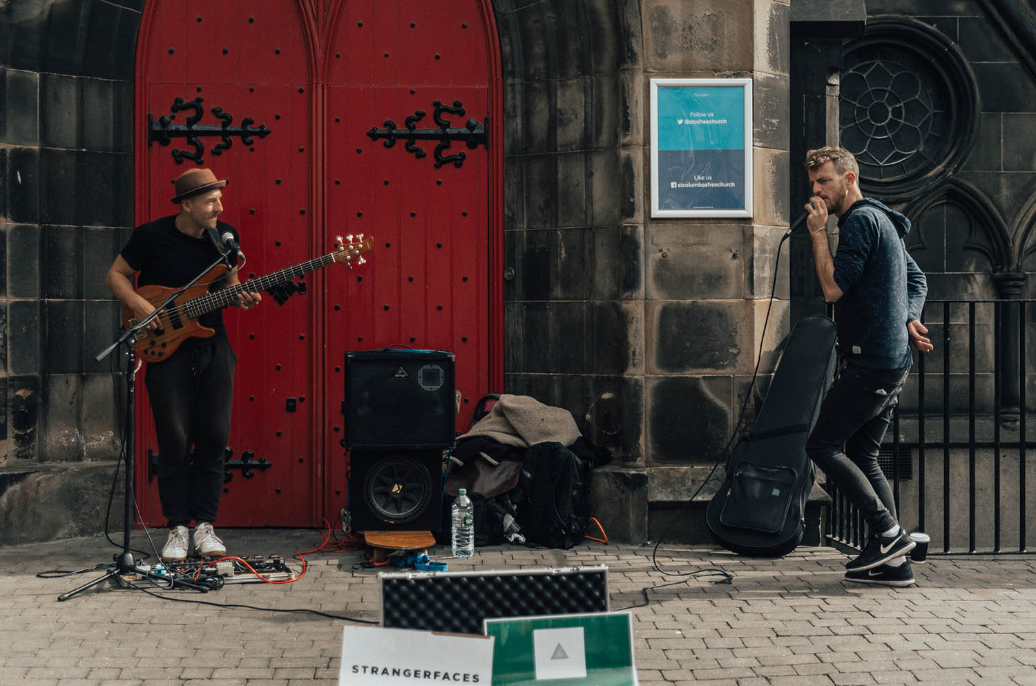 Strangerfaces - Street Performance in Edinburgh