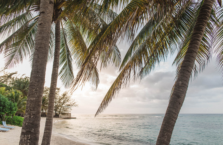 Beach Sunset at Half Moon Luxury Resort, Montego Bay