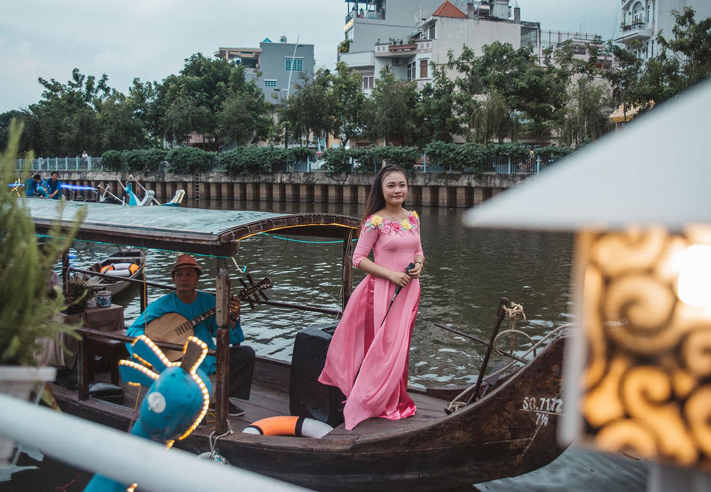 Kanalbåt i Vietnam - Saker att göra i Ho Chi Minh-staden