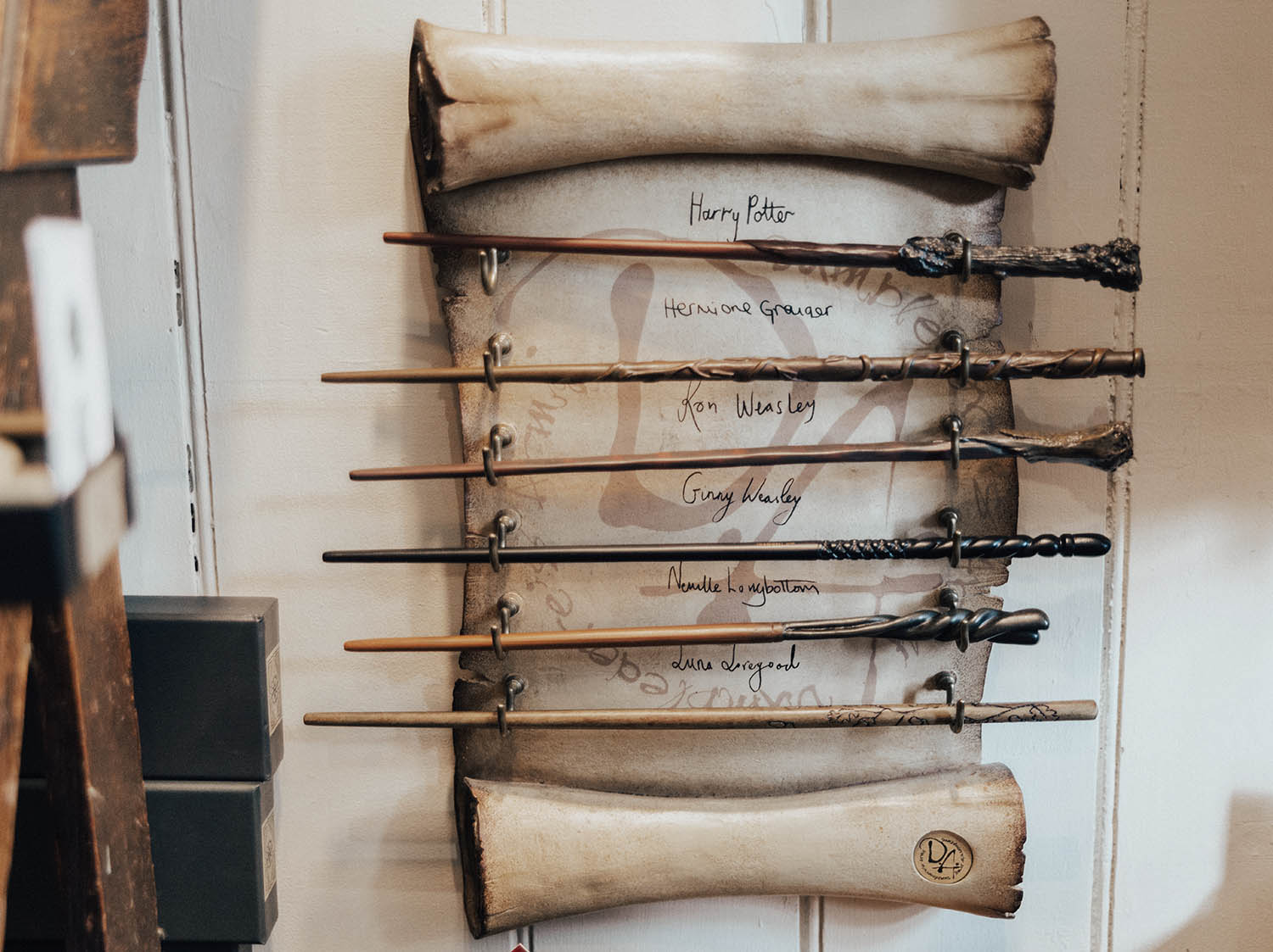 Harry Potter Wands in Diagon House