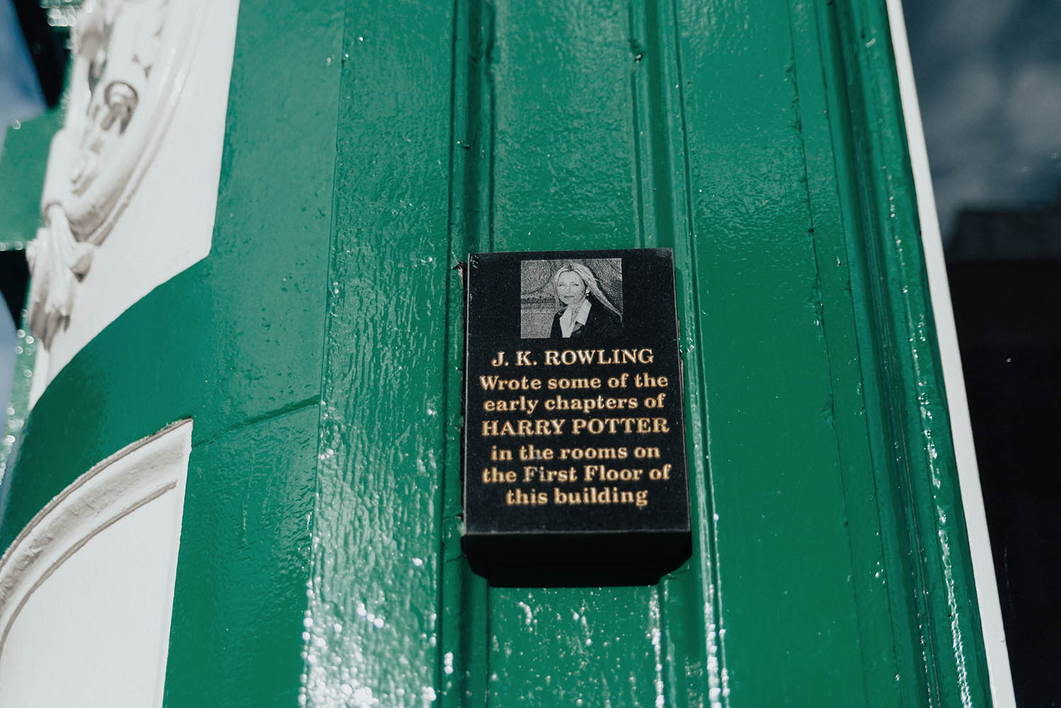 J.K Rowling - Harry Potter Places in Edinburgh