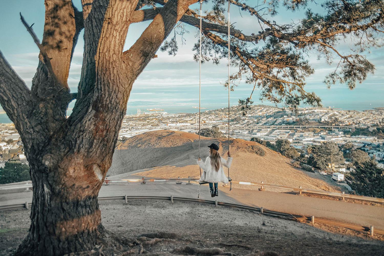 Adaras på Bernal Heights:Instagramvänliga platser i San Francisco