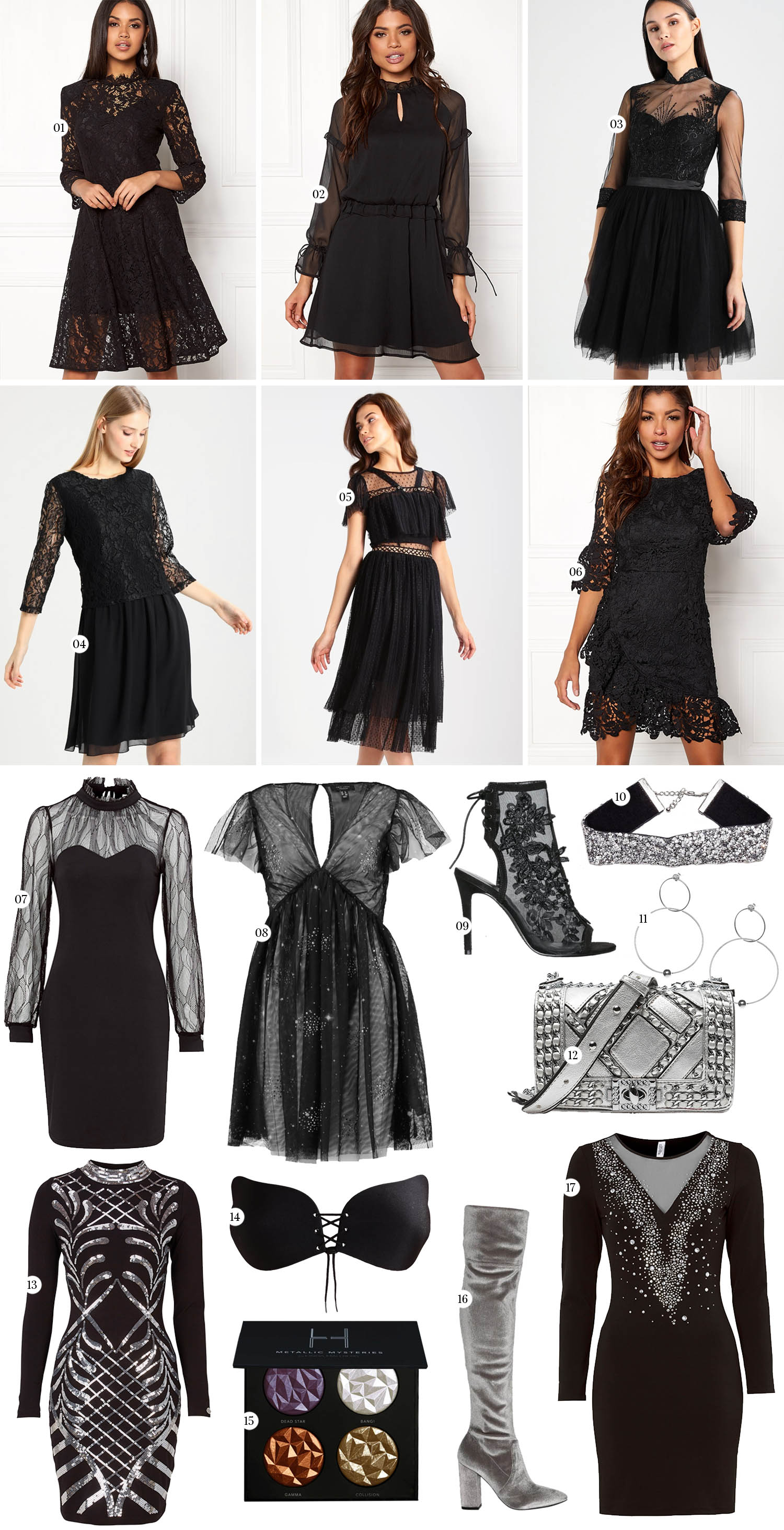 New Year's Eve Dresses - The Little Black Dress