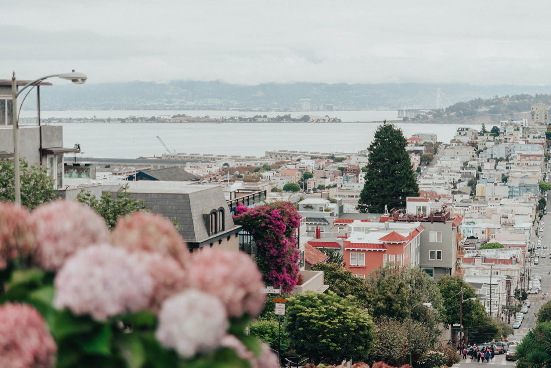 Instagramvänliga platser i San Francisco: Lombard Street