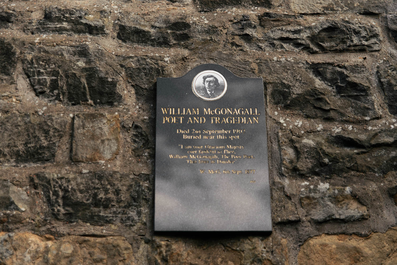 Mcgonagall Grave - Greyfriar's Kirkyard - Harry Potter Places in Edinburgh