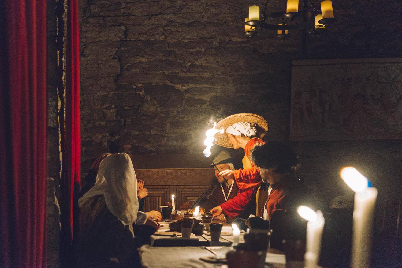 Medieval Restaurant & Food - Kapitelhusgården, Visby