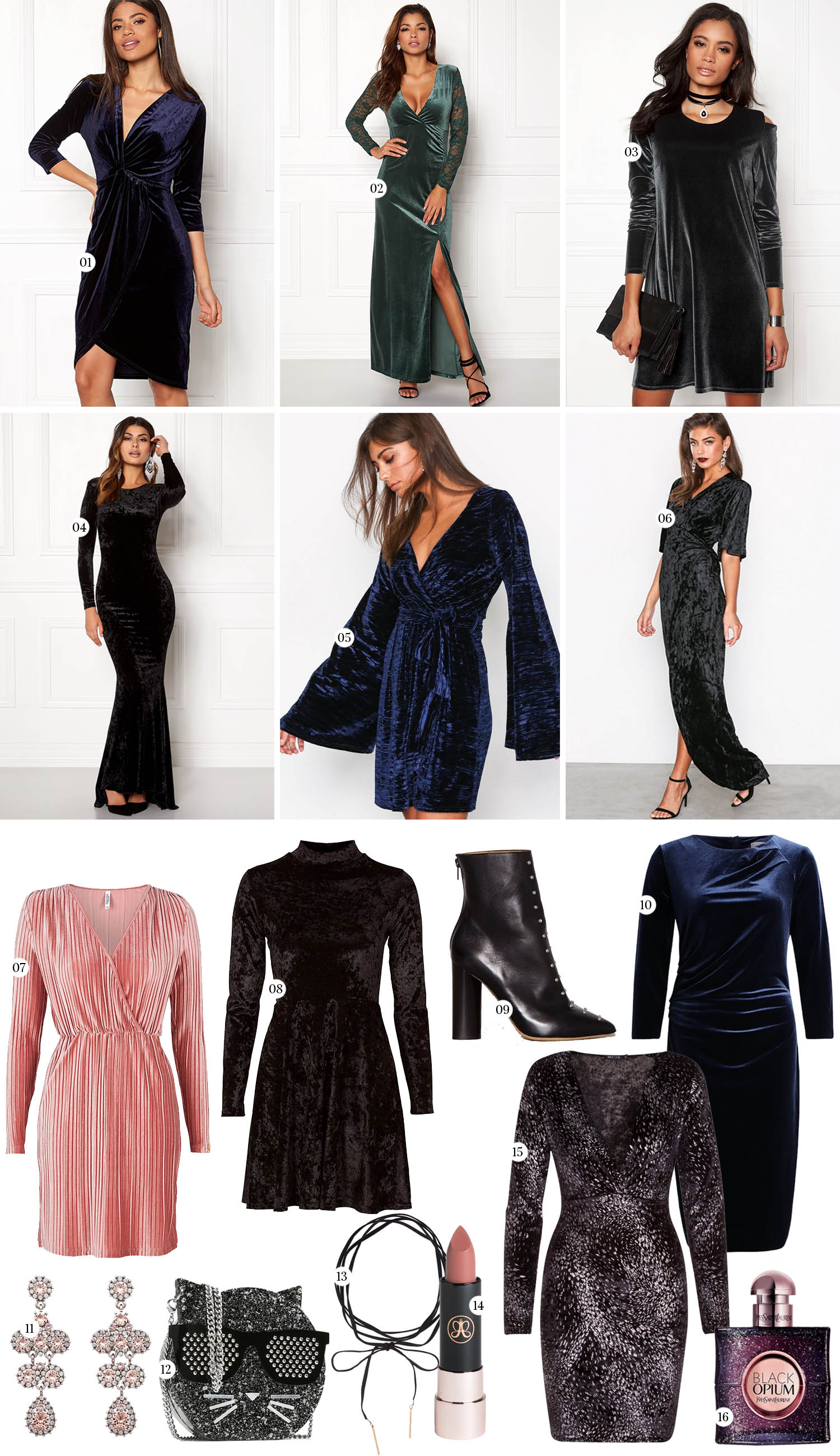 New Year's Eve Dresses - Velvet Dresses