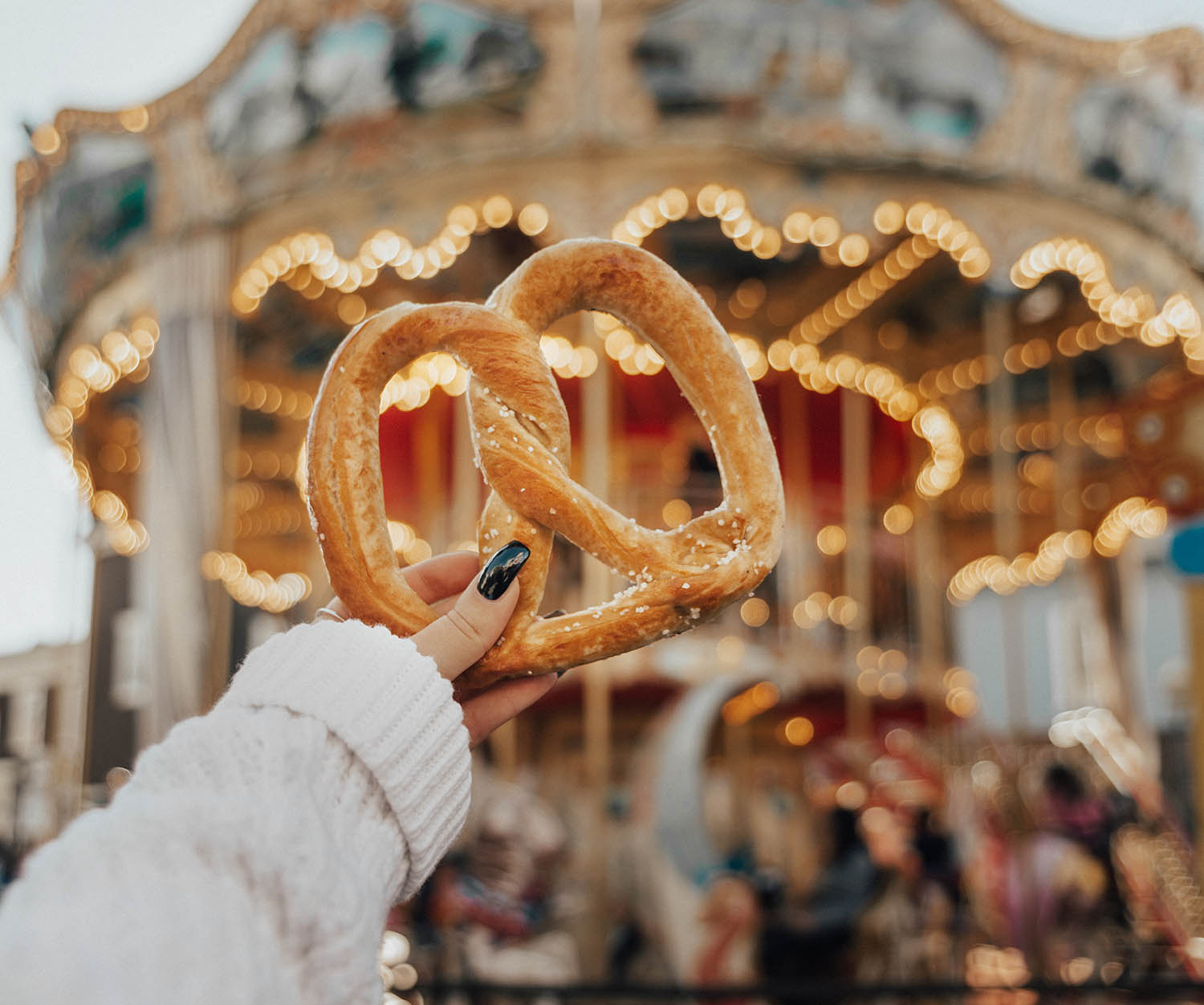 Instagram-Worthy Spots in San Francisco: Pretzels by Pier 39
