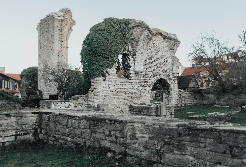 Ruin i Visby, Gotland