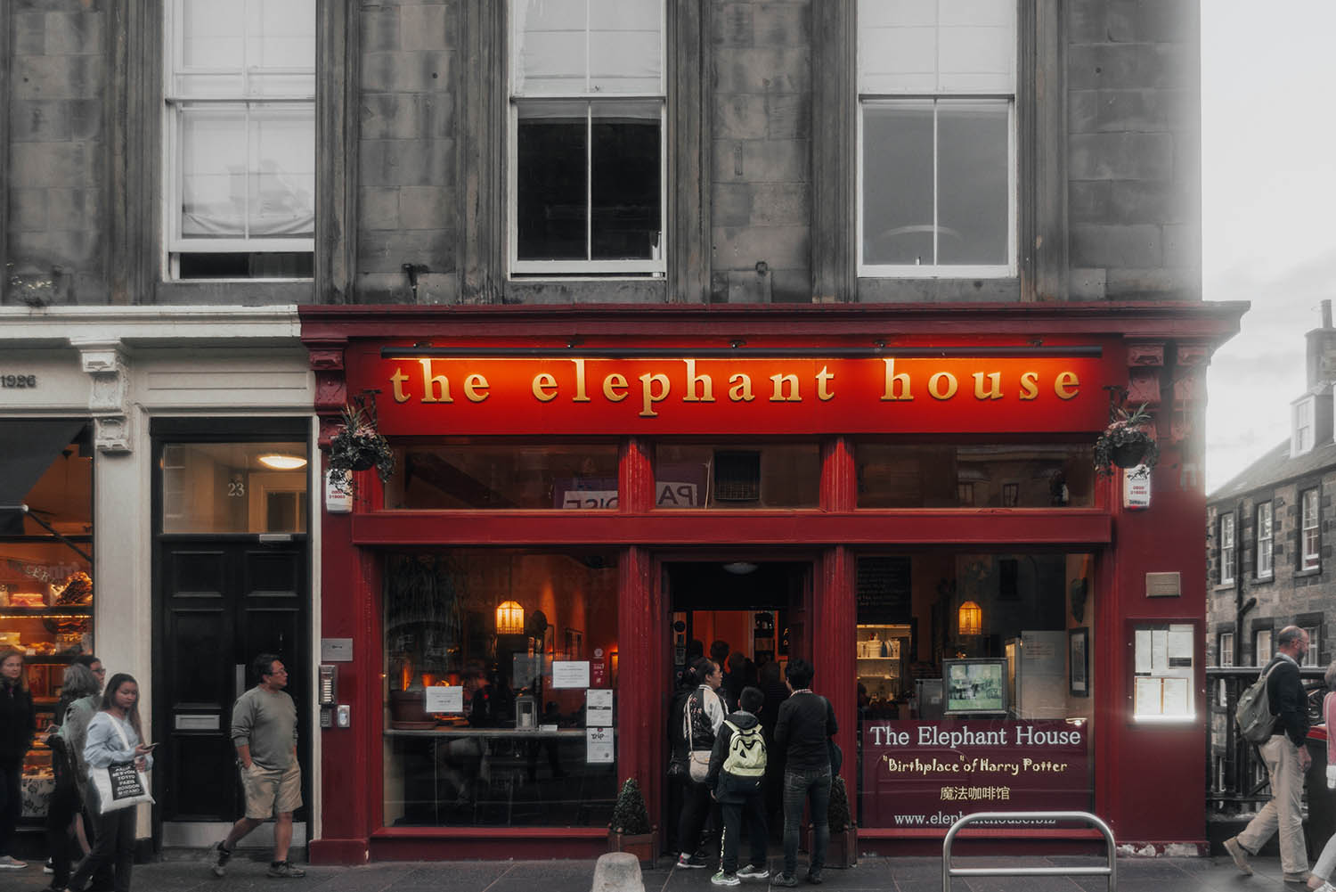 "The Elephant House - ""The Birthplace of Harry Potter"""