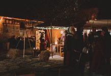 Medieval Christmas in Visby, Gotland, Sweden
