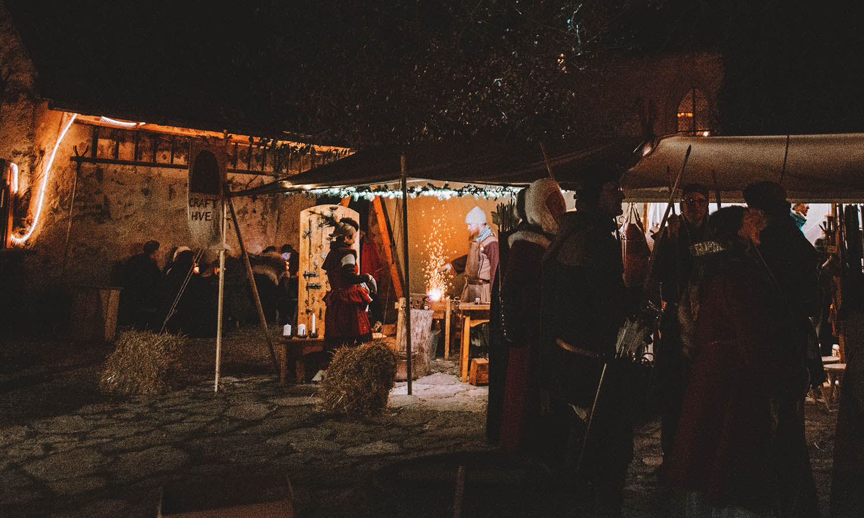 Medieval Christmas in Visby, Gotland, Sweden