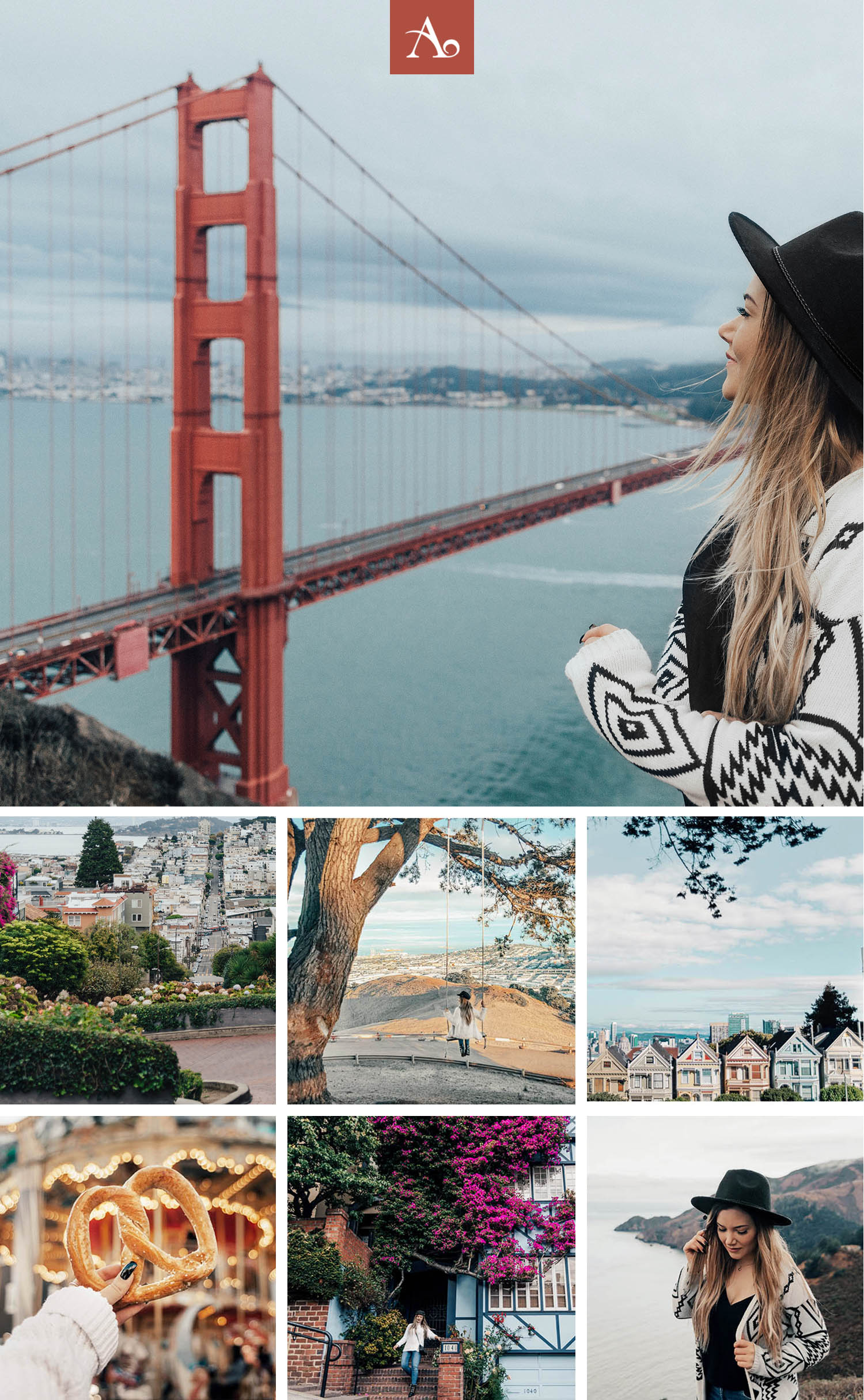 The Most Instagram-Worthy Spots in San Francisco