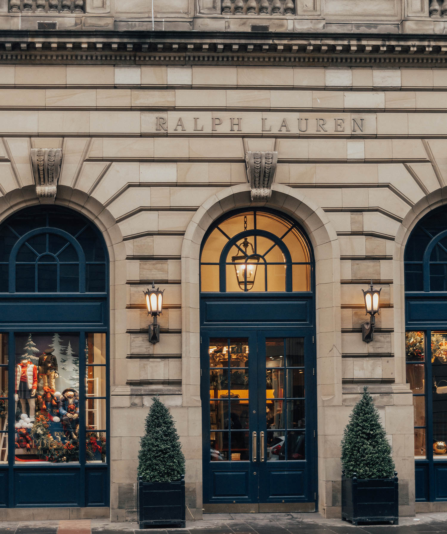 Ralph Lauren Store Front in Glasgow