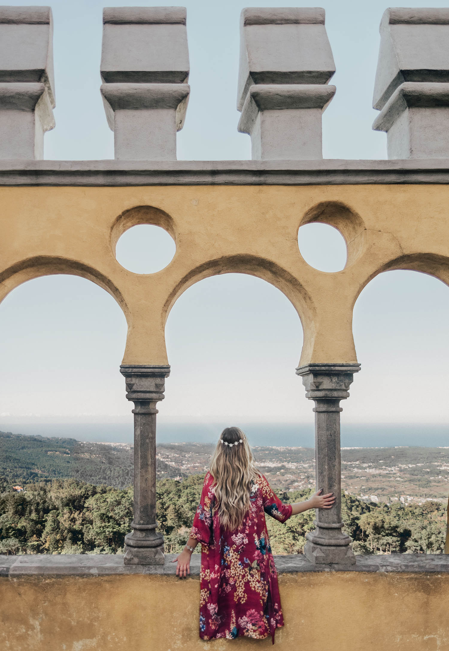 Adaras at Pena Palace in Sintra, Portugal